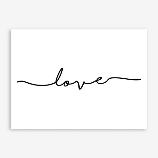 Love Quote Landscape
