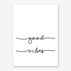 Good Vibes II Art Print