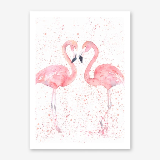 Flamingo Double Print I
