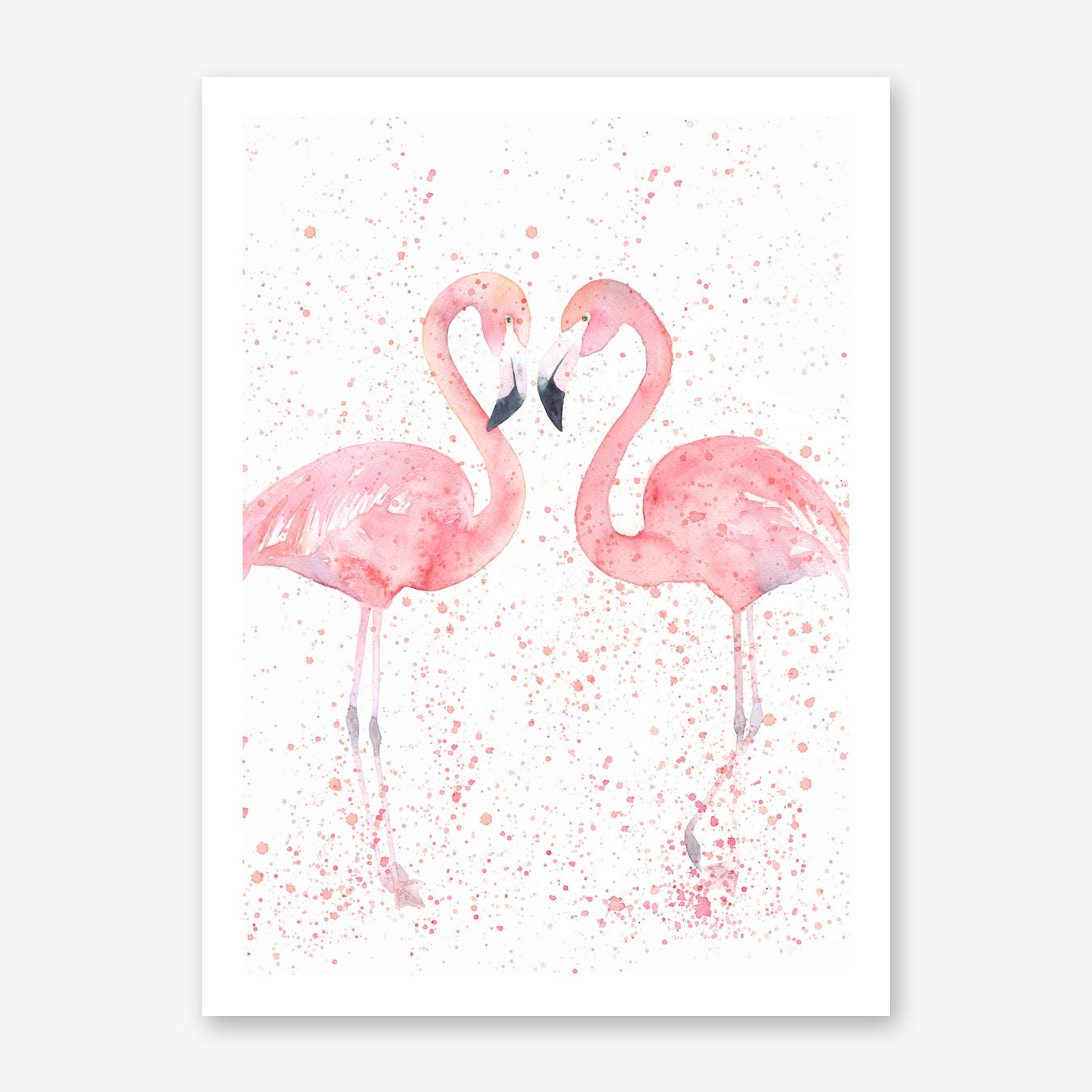 Flamingo Double Print I