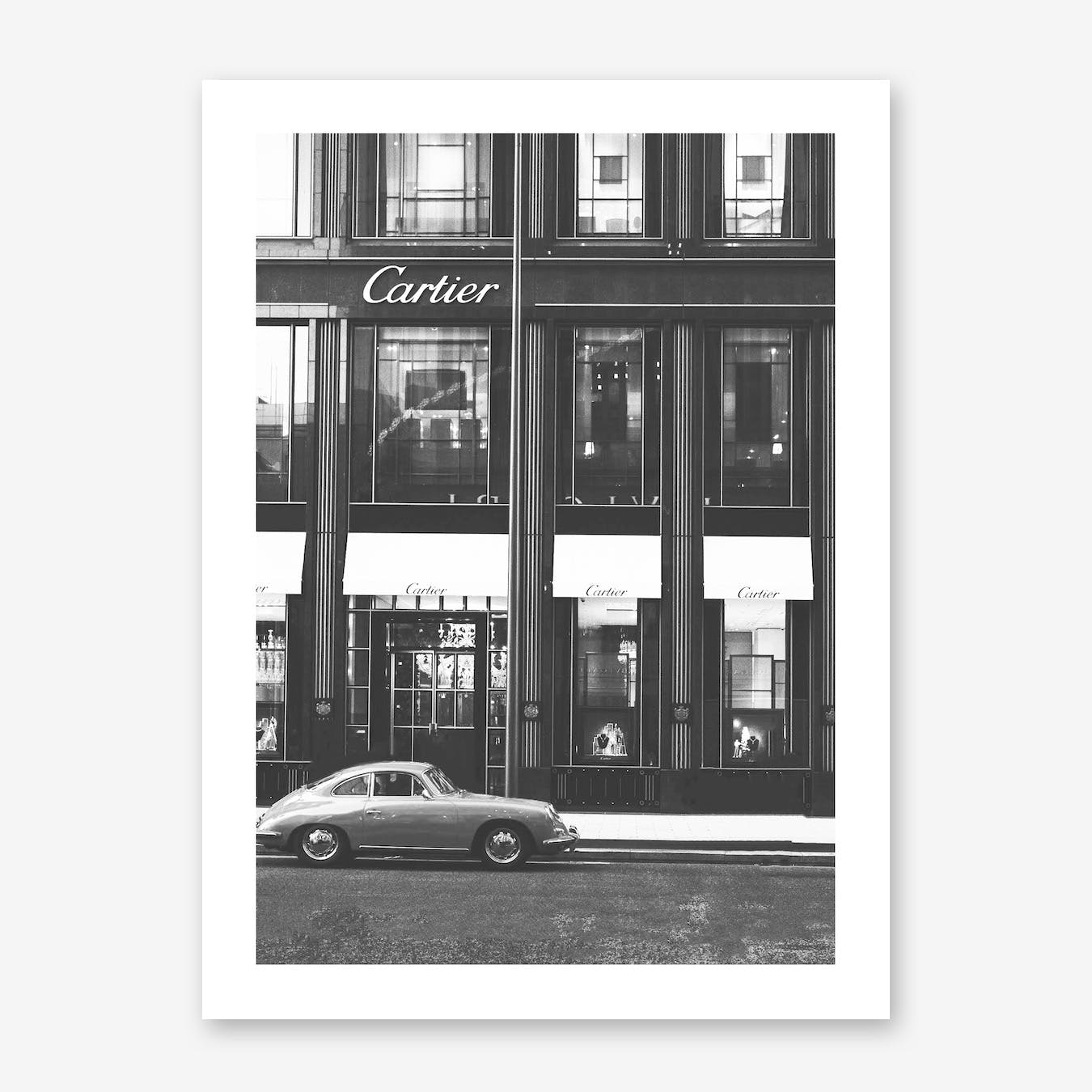 Cartier Vintage Print