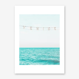 Venice Beach Sea View I Art Print