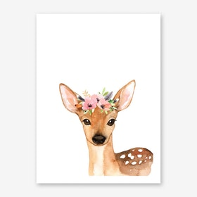 Floral Deer