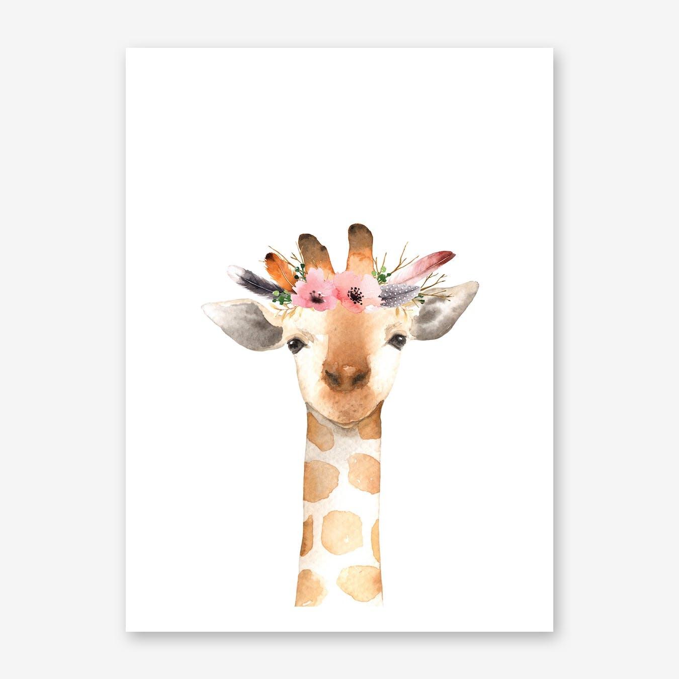 Floral Giraffe