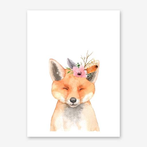 Floral Fox