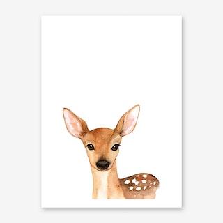 Nursery Deer Art Print