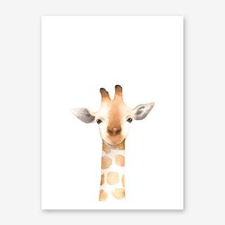 Nursery Giraffe Art Print