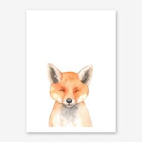 Nursery Fox Art Print