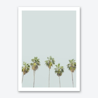 Palm Trees Art Print 2