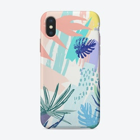 Tropical Abstract I iPhone Case