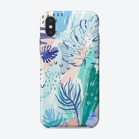 Tropical Abstract II iPhone Case