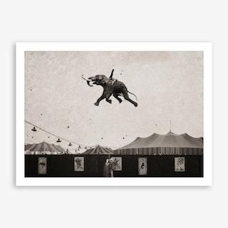 The Amazing Elephant Art Print