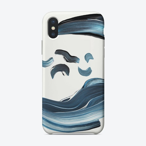 Blue Sand Marble Phone Case iPhone Case