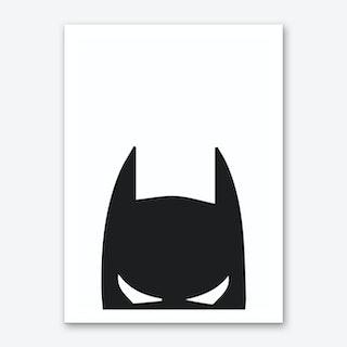 Batman Head Art Print