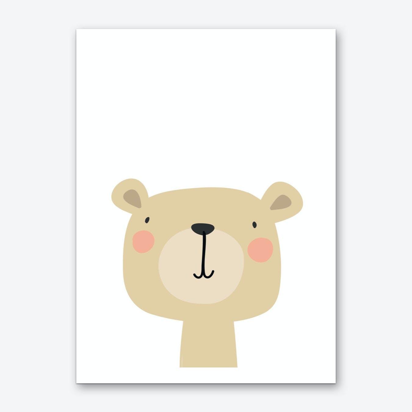 Bear Nursery Print Art Print