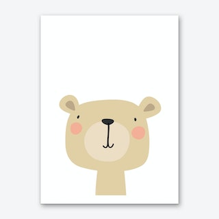 Bear Nursery Print Art Print