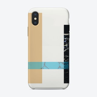 Washed Out Pink and Mint Phone Case iPhone Case