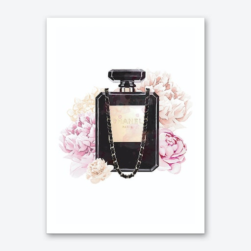 Coco Chanel Quote Wall Art Print