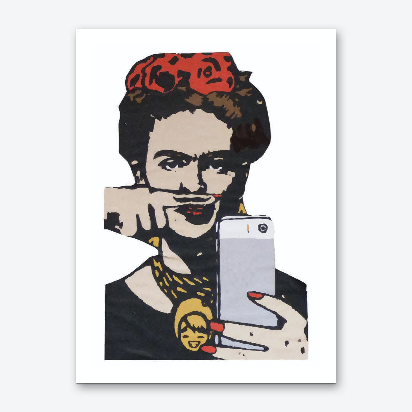Frida Urban Art Print