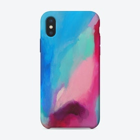 High Top View of the Beach Phone Case iPhone Case