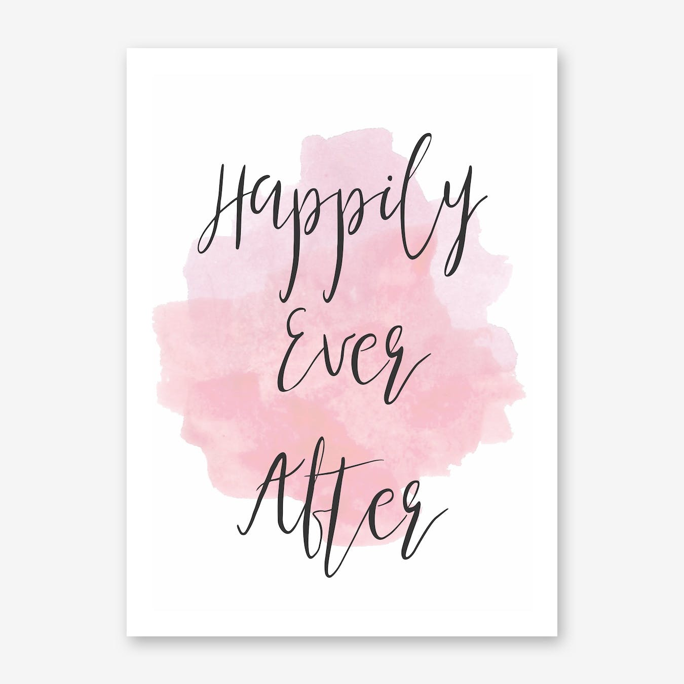 Happily Ever After Pink