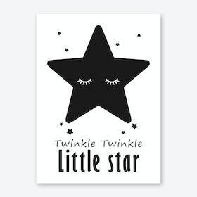Twinkle Little Star Art Print