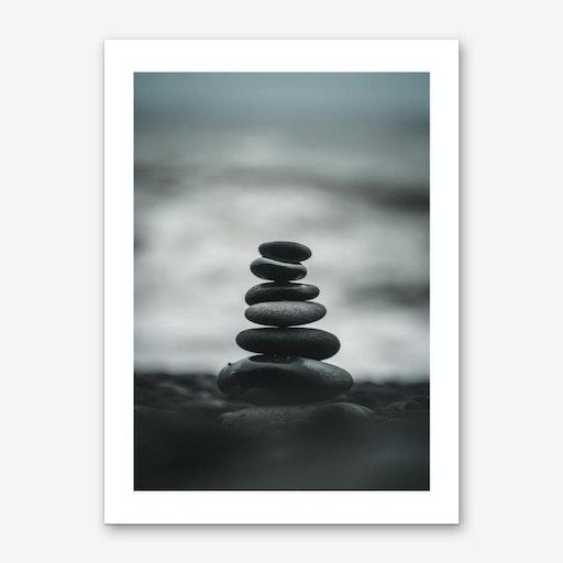 Pebbles Print Art Print