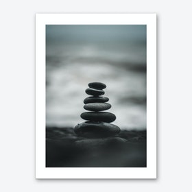 Pebbles Print Art Print