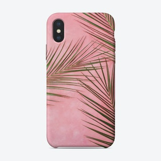 Geometric Pink and Mint Phone Case iPhone Case