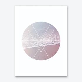 Sea Circle Art Print