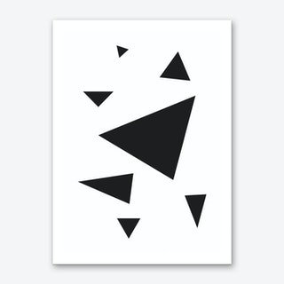 Triangles Abstract print Art Print