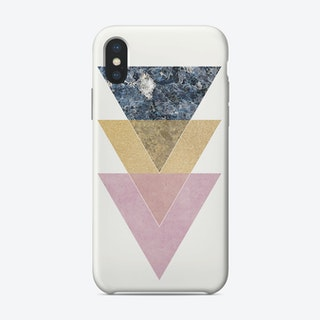 Vintage Gold Scuffed Phone Case iPhone Case