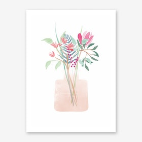 Flower Bouquet II Art Print