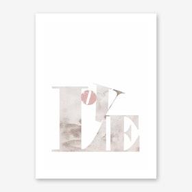 Love Sign Art Print
