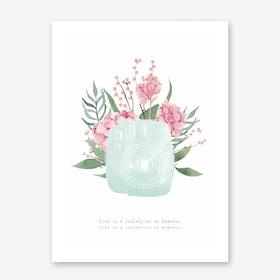 Instax Art Print