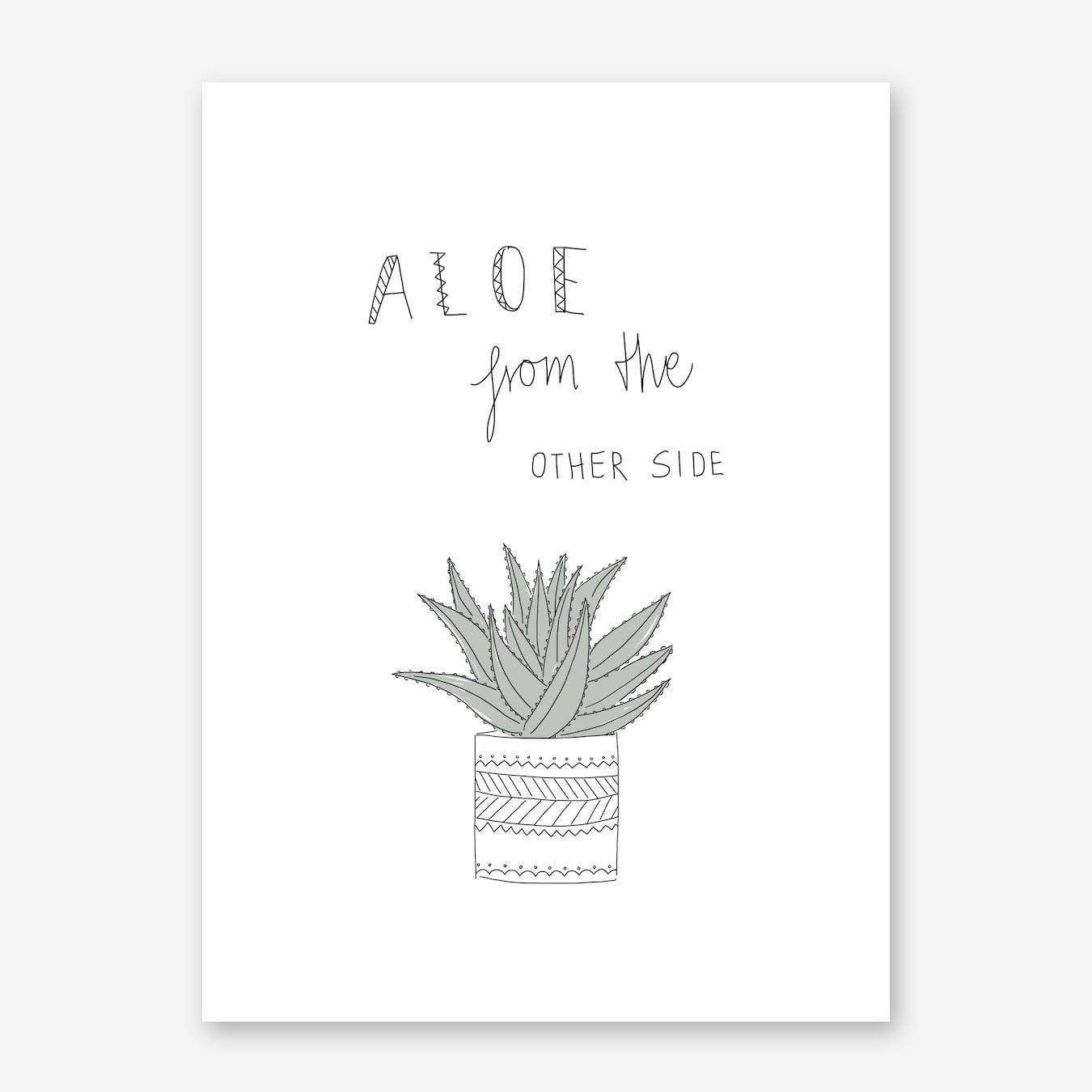 Aloe Vera Print