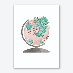Planet Earth I Art Print