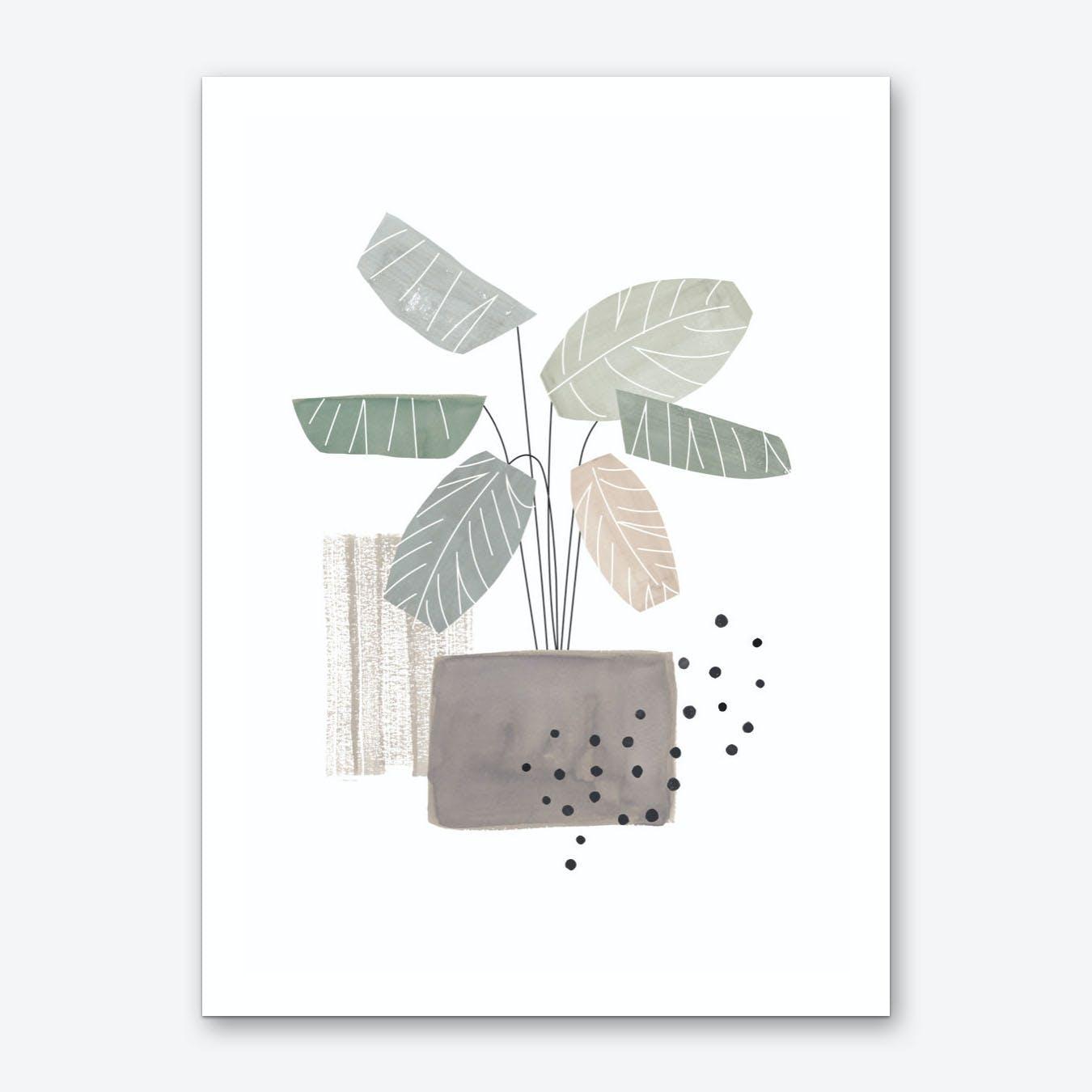 Geoplant Art Print