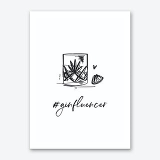 Ginfluencer Art Print
