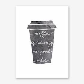 Cup Art Print
