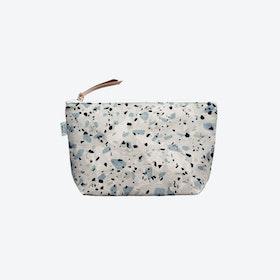 Cosmetic Bag Terrazzo - Blue/Grey I