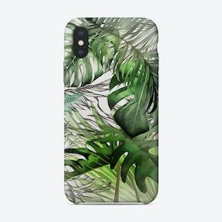 Tropical Foliage 22 Phone Case
