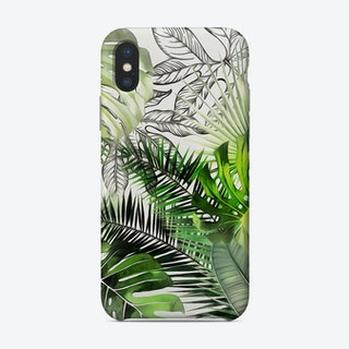 Tropical Foliage 12 Phone Case