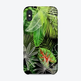 Tropical Foliage 41 Phone Case