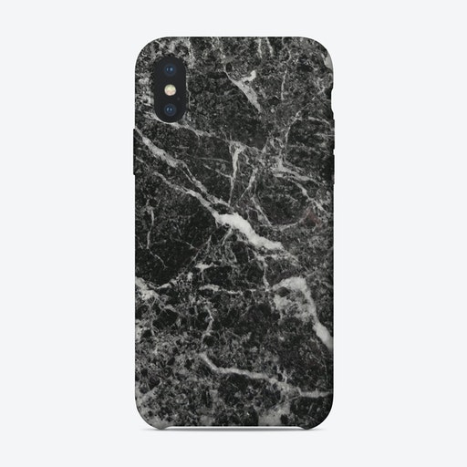 Black Marble I iPhone Case
