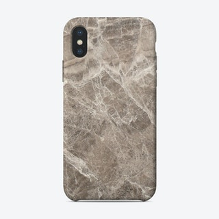 Brown Marble II iPhone Case