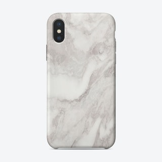 White Marble Mountain II iPhone Case