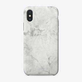 White Marble II iPhone Case