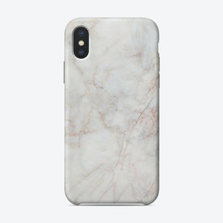 White Marble IV iPhone Case