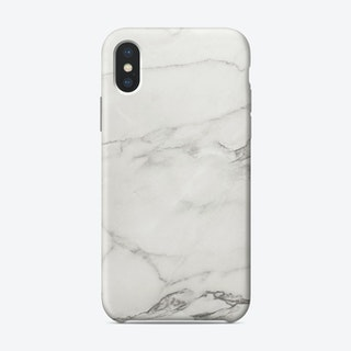 White Marble VI iPhone Case